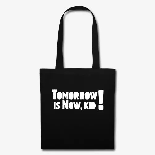 tomorrow-is-now-kid-logo-tote-bag